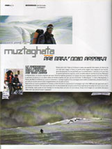 "FreeRider n. 21 - Muztaghata ""Sci nell'aria sottile"""