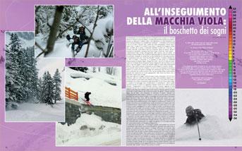 4 Skiers - All'inseguimento della MACCHIA VIOLA: il boschetto dei sogni