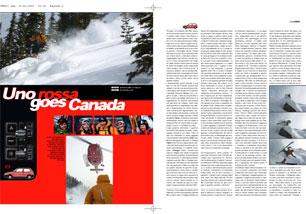 FreeRider n. 22 - UnoRossa goes Canada